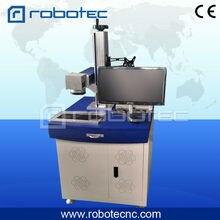 Prix le plus populaire de machine de marquage de laser de fibre détiquette de chien de la Promotion 20W 30w de laser