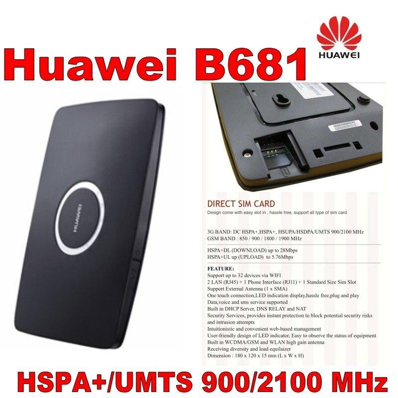 lot of 100pcs Unlocked Huawei B681,DHL shipping