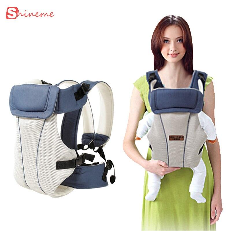 Portabebés multifuncional y transpirable, portabebés delantero, portabebés, portabebés, mochila, bolsa, envoltorio, canguro para bebés de 0 a 30 meses