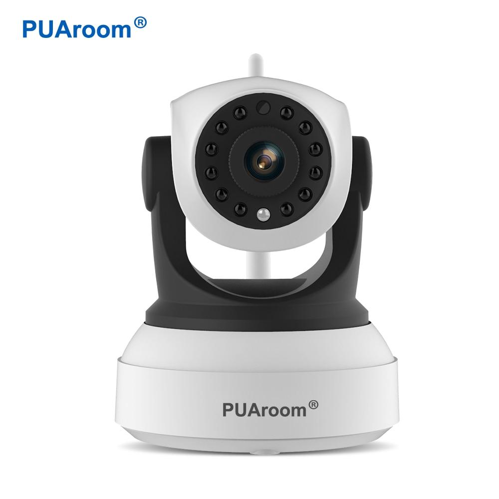 PUAroom HD Wi-fi Video Surveillance Night Security Camera Network Indoor Ip Camera Wireless