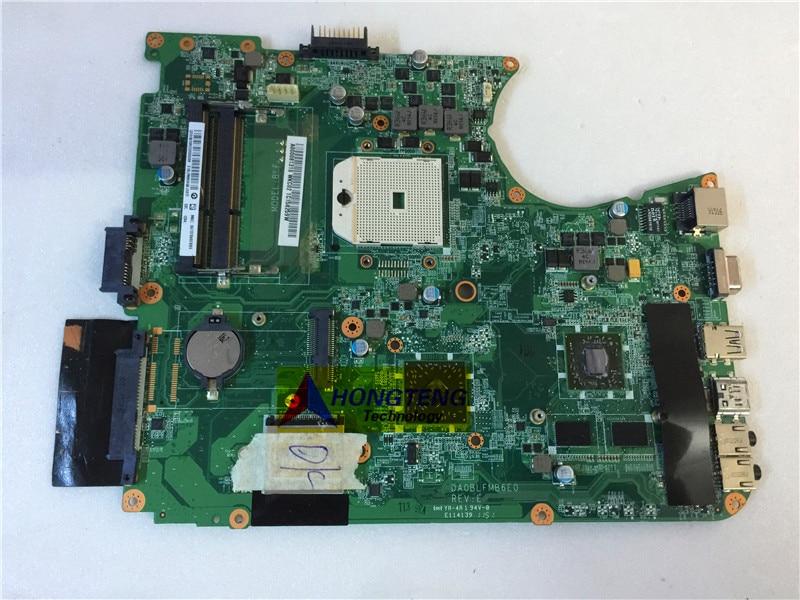 اللوحة الأم الأصلية A000081310 للكمبيوتر المحمول توشيبا ستالايت L655, DA0BLFMB6E0 اختبار OK شحن مجاني