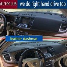 Voor Nissan Teana J32 2008-2013 Lederen Dashmat Dashboard Cover Pad Dash Mat Zonnescherm Tapijt Custom 2009 2010 2011 2012