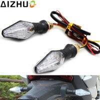 12V Motorcycle Turn Signal Light LED Lamp Blinker Amber Blue Light For Honda CB 400 CB600F CBR 954 929 250R 125 CBR1100XX NC750X