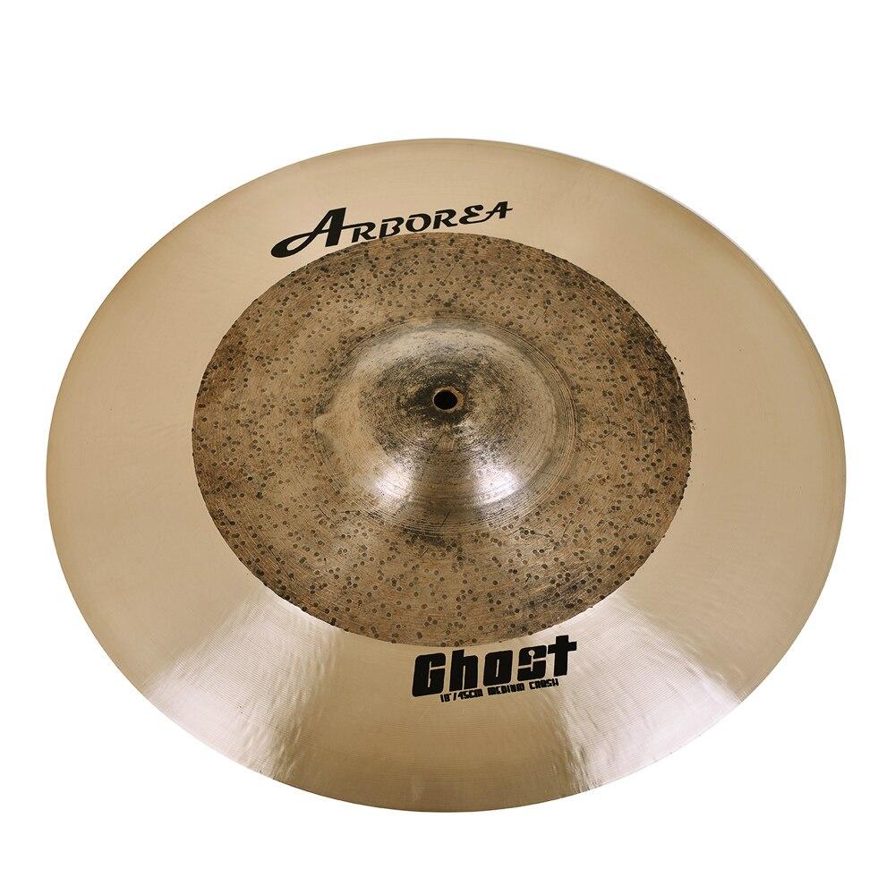Arborea Cymbals serie Ghost B20 18 medio Crash 100% hecho a mano