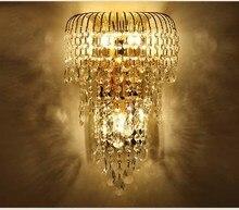 Murale Luminaire Lampe Design Oprawa Mur Sconce Lampada Camera Modern Crystal Wall Light Sconces Lamps Living Room Decor