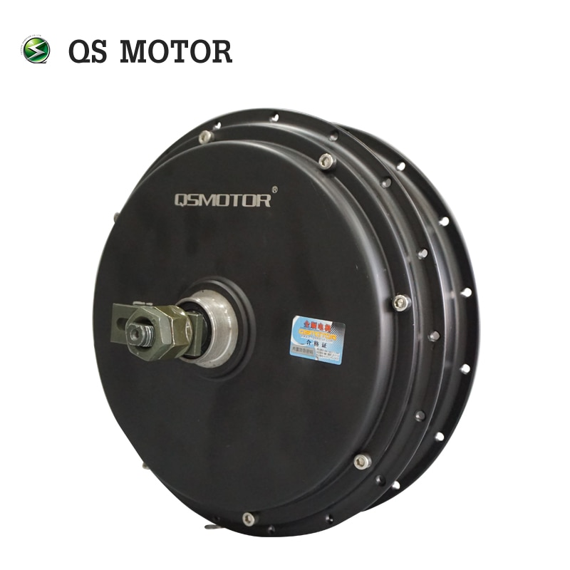 QS MOTOR 3000W 5kw 205 50H V3 80kph 72V single speed freewheel electric bike bicycle spoke BLDC hub motor enlarge