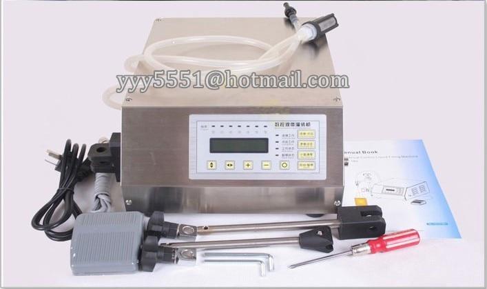 ¡DHL/FEDEX envío gratis! Máquina de llenado de líquido de control Digital compacto para perfume, aceite, llenado de champú de líquido (3-3000 ML)