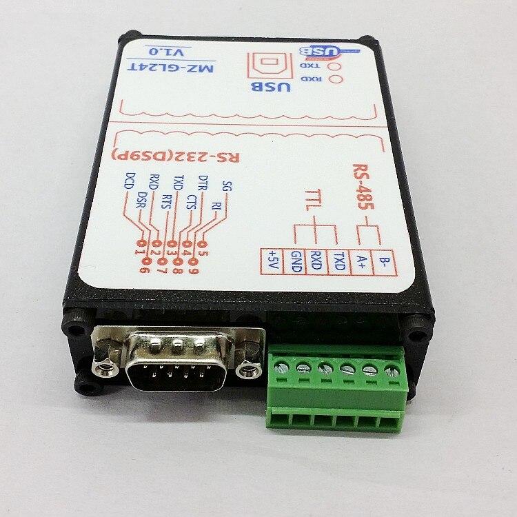 NWE 1 PC Opto-isolado USB para 485,232, TTL três-em-um USB para RS485USB para RS232 industrial de proteção contra raios