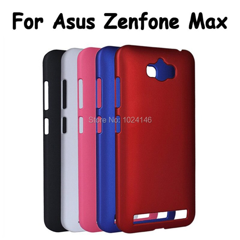 "Carcasa protectora delgada de plástico mate rígido Color caramelo antihuellas dactilares para Asus Zenfone Max ZC550KL 5,5"""
