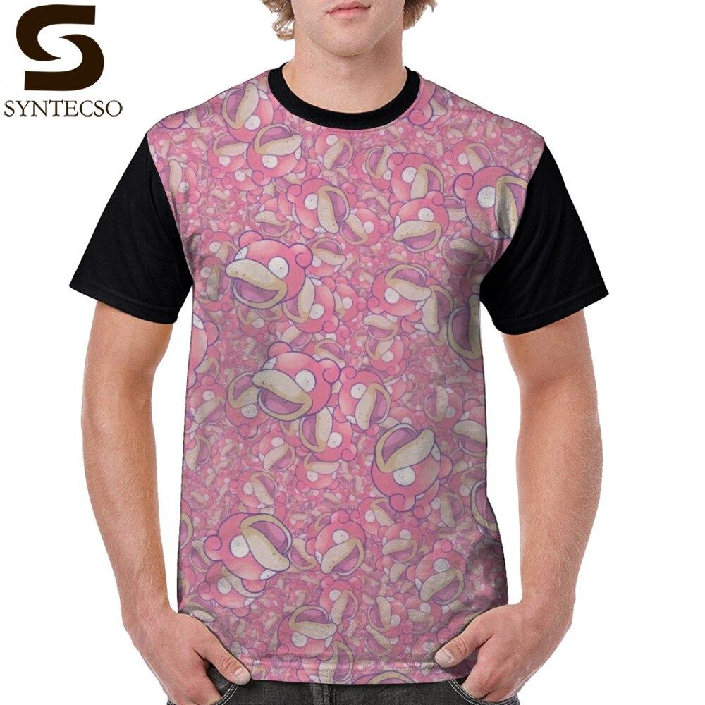 Camiseta Slowpoke, camiseta Cornuslowpia, 100 por ciento de poliéster, camiseta con gráfico impreso, 6xl, Linda camiseta informal de manga corta para hombre