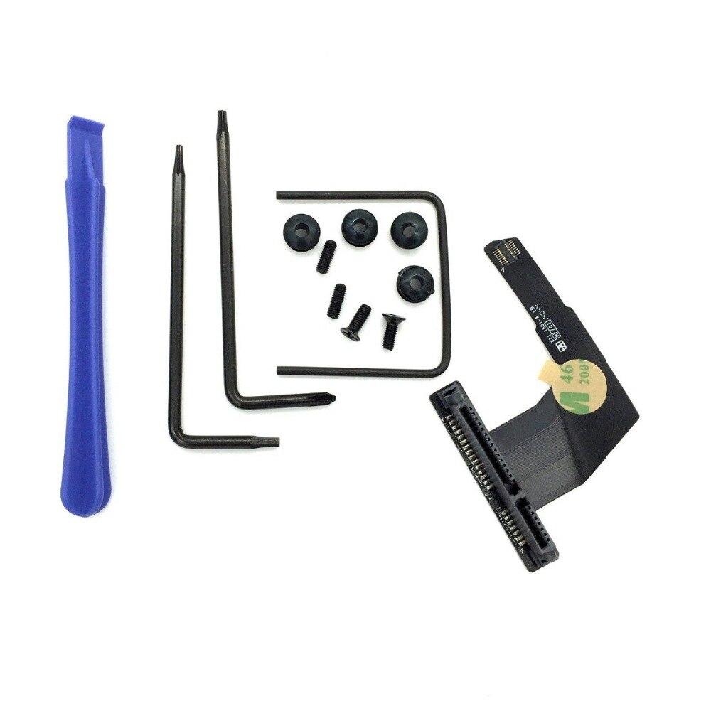 10 مجموعات/وحدة القرص الصلب HDD القرص SSD الكابلات المرنة مع أدوات 821-1501-A لماك Mini A1347