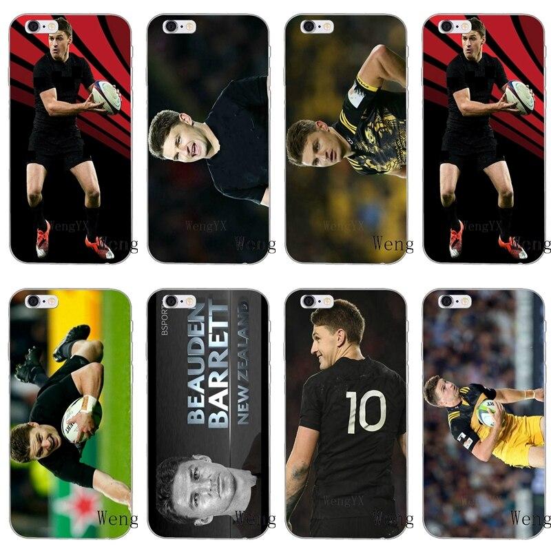Rugby MVP Beauden Barrett Magro caso de telefone de silicone Macio Para Samsung Galaxy S3 borda S4 S5 S6 S7 S8 S9 Além de mini Nota 3 4 5 8