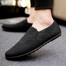 Männer Wohnungen Licht Atmungsaktive Schuhe Casual Schuhe Männer Müßiggänger Mokassins Mann Turnschuhe Bequeme Schuhe Peas Schuhe