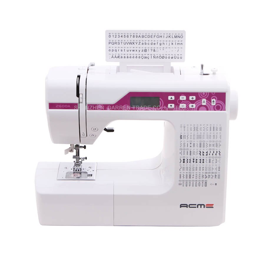 Haushalt Multi-Funktion Nähen Maschine, Mit Verschiedenen 200 Stiche, Können Stickerei Buchstaben, Lcd-bildschirm, super Produkt!