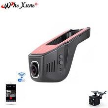 WHEXUNE Novatek 96658 WIFI Auto DVR Dash Cam Full HD 1080P Dual objektiv Nachtsicht Fahren Recorder Video Aufnahme dash Kamera