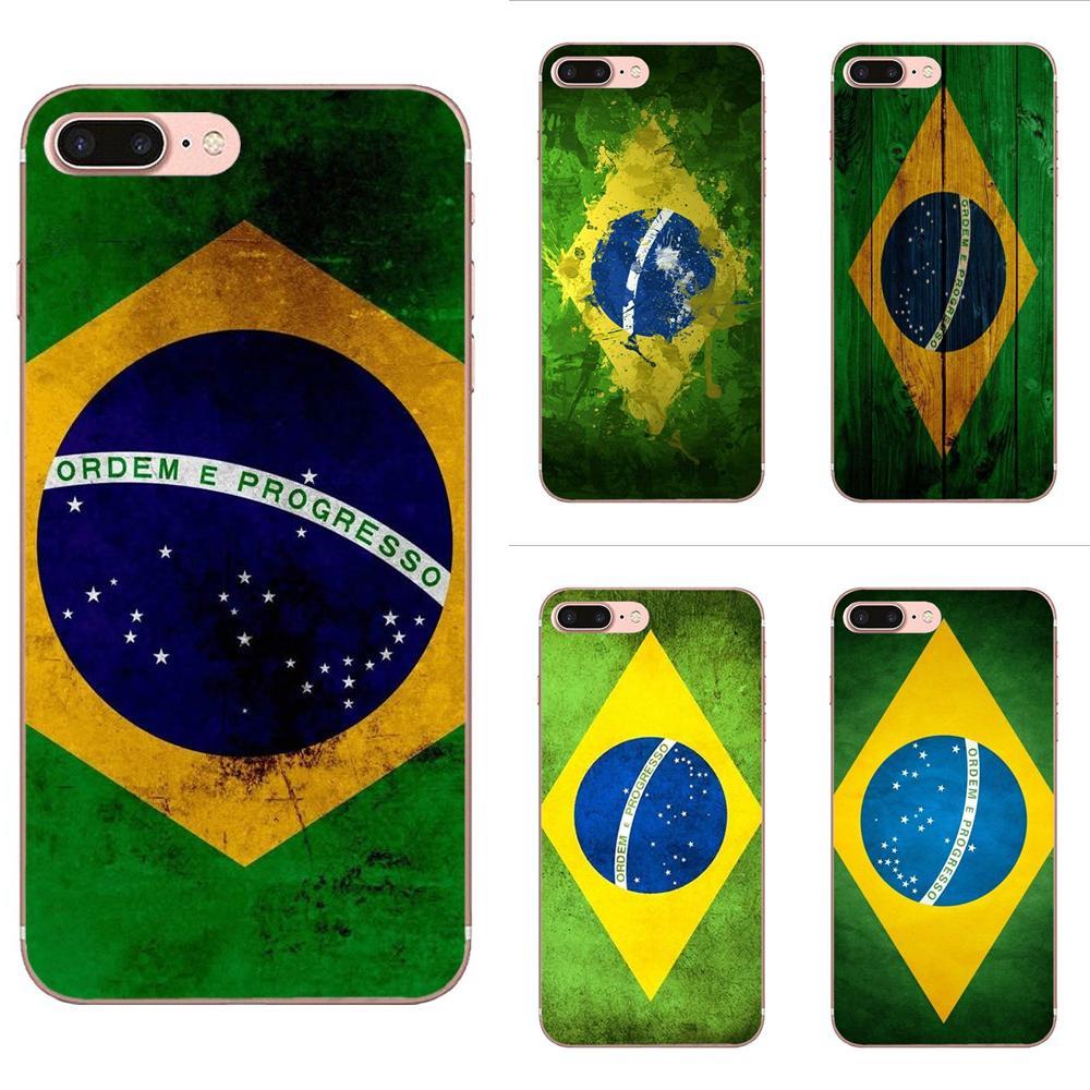Мягкий милый флаг Бразилии удивительный пейзаж для LG G4 G5 G6 K4 K7 K8 K10 2017 V10 V20 V30 Stylus Nexus 5 5X G2 G3 mini spirit
