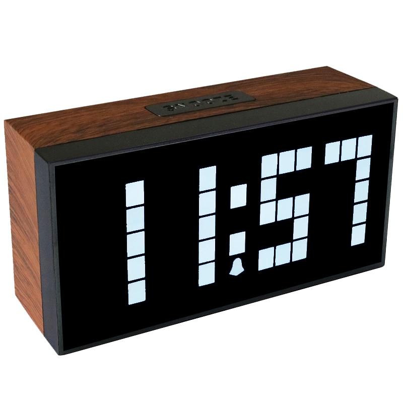 kosda classic Vintage Alarm Clock Electronic Desk Table Watch Mechanical Alarm clock Travel Vibrati
