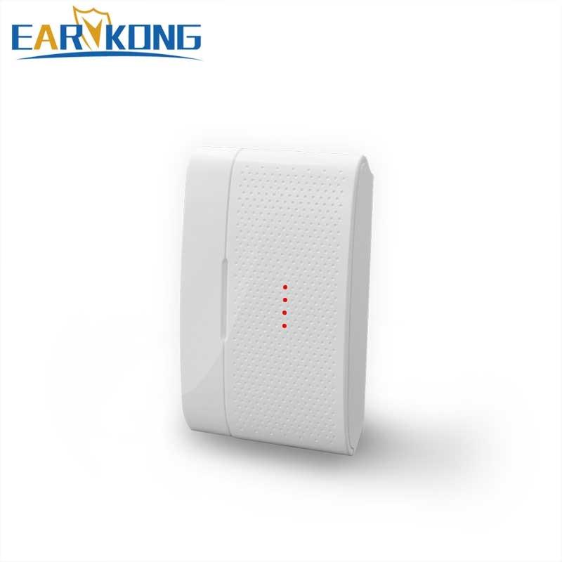 Беспроводной датчик открытия дверей 433 МГц, для домашней безопасности, wifi, GSM сигнализация, детектор открывания дверей, 1527 чипов, система безопасности дома
