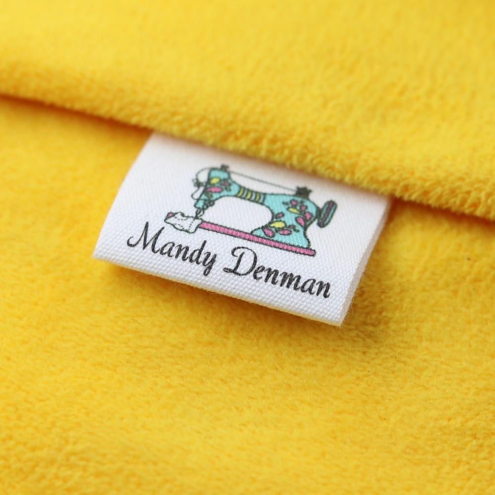 Custom Sewing label, Handmade Tags, Custom kids Name Labels,Cotton Ribbon labels, Logo Labels(MD0015)