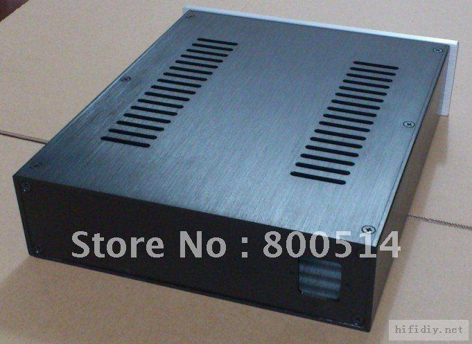 2607 Full aluminum enclosure / preamp case /headohone amplifier chassis
