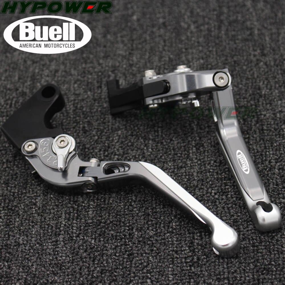 Para Buell M2 ciclón 1997, 1998, 1999, 2000, 2001, 2002 de la motocicleta extensible plegable CNC Moto embrague regulable palancas de freno
