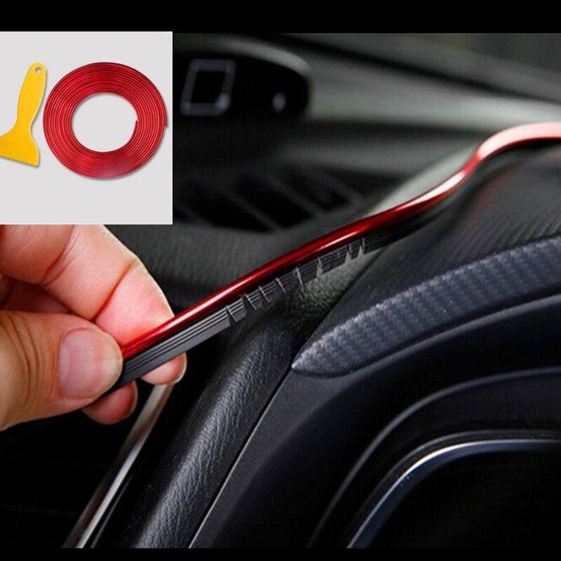 5 м украшение интерьера автомобиля литье для Mercedes Benz AMG W211 W203 W204 W210 W124 W202 CLA W212 W220 W205 W201 A B C E S R Cla
