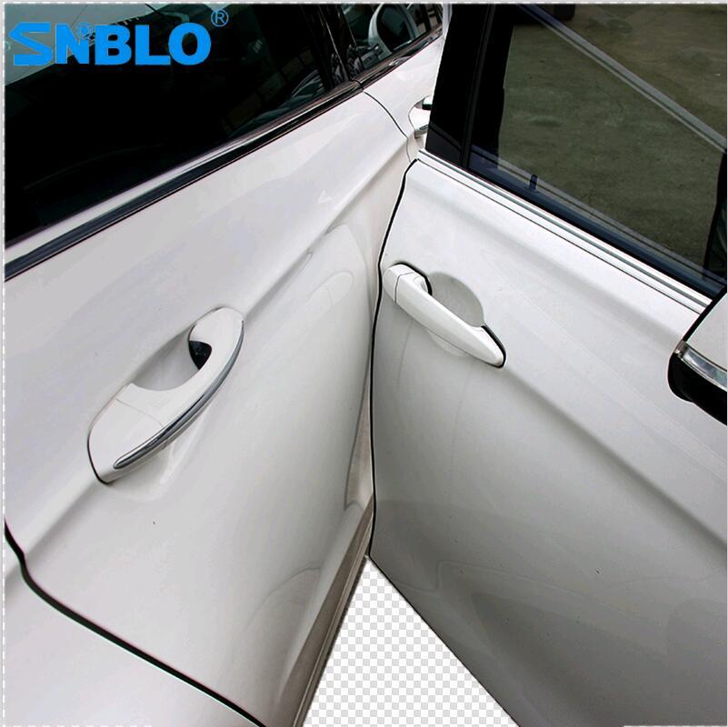 Стайлинг автомобиля Защита от царапин края двери для hiunday tucson 2016 audi a4 b7 volkswagen polo mitsubishi outlander 2016 suzuki
