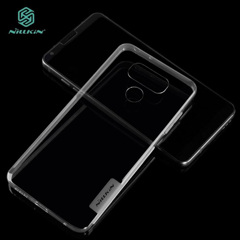 For LG G6 TPU Case NILLKIN Ultra Thin Slim Case Hight Quality Clear Soft TPU Back Phone Cover For LG G6