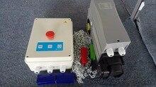 Ouvre-porte industriel   380VAC 600W, opérateur de porte de section industrielle, inclus une boîte de commande et une télécommande