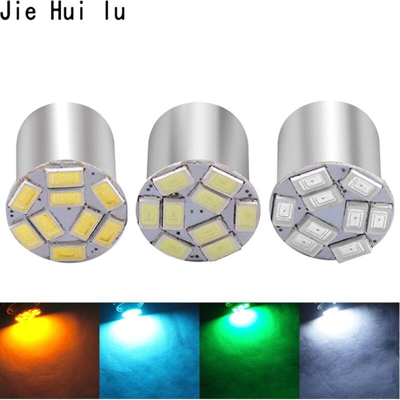 1156 BA15S P21w 1157 Bay15d S25 5630 9 Smd bombillas de estilo de coche luz intermitente lateral luz de freno ámbar blanca luz LED