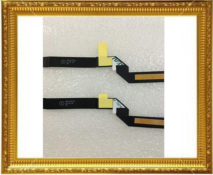 "5 unids/lote genuino 593-1577-04 para Macbook Pro Retina 13 ""A1425 Touchpad cable flexible de trackpad 2012 a principios de 2013"
