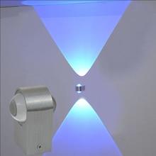 2W/6W mur LED lampe haut et bas éclairage à la maison pour salon moderne chambre couloir décoration en aluminium appliques AC85-265V