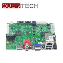 OUERTECH 32ch H.265 1080P/5MP/4K  IP video NVR Board HI3536C 1CH RCA Audio OUT/IN 2 SATA port ONVIF Surveillance network Board