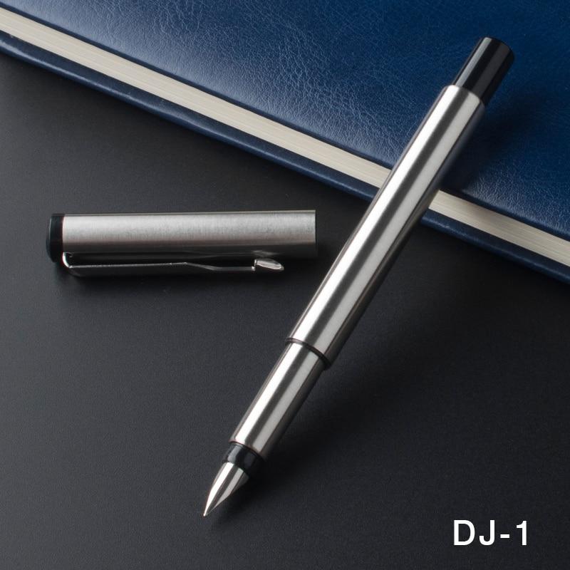 Oficina Full Metal Vector pluma 0,5mm nib negocios bolígrafo escuela material de papelería para estudiantes