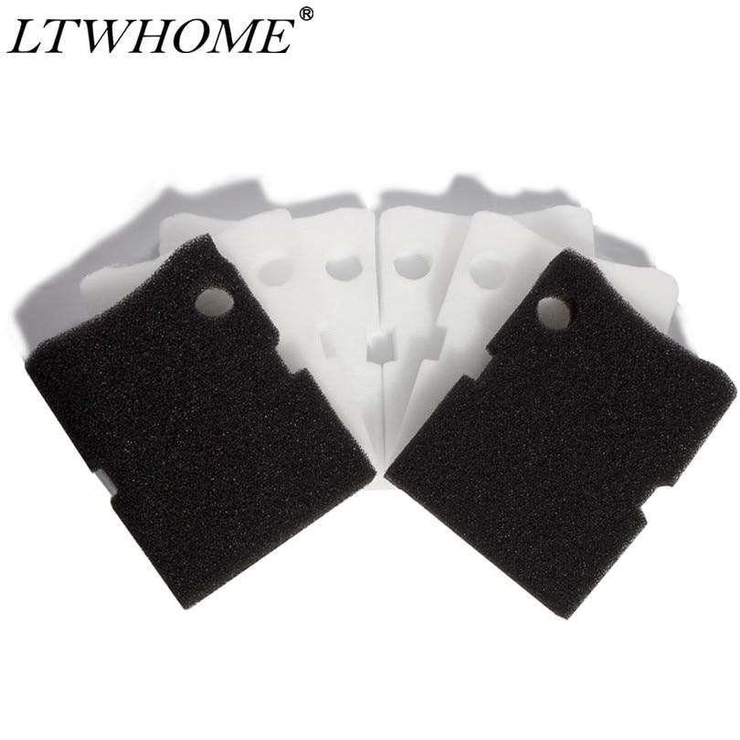 LTWHOME קנס גס קצף מסנן מדיה Fit עבור Hydor מקצועי מיכל מסנן 450/600