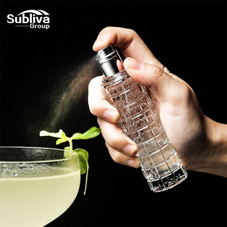 30 мл мартини для бара, бутылка для бармена для коктейлей, прозрачная стеклянная парфюмерная бутылка, декоративная бутылка для бутылок