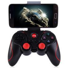 [Подлинный] T3 Bluetooth беспроводной геймпад S600 STB S3VR игровой контроллер Джойстик для Android IOS мобильных телефонов PC игровая ручка