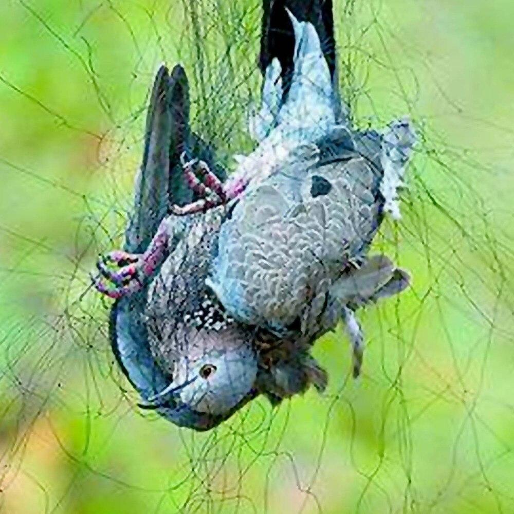 Behogar S M L antiaves estanque verde de malla de cercado de malla para la protección de las Throstle paloma Sparrow suministros de jardín