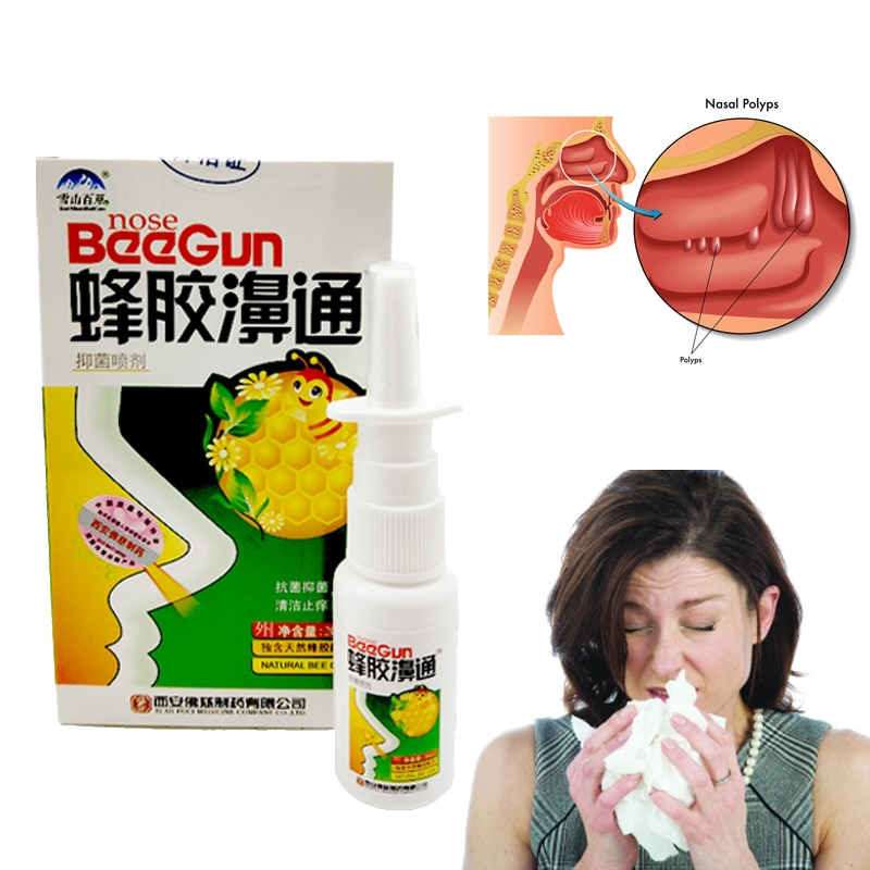 Chinese Traditional Medical Herb Spray Nasal Spray Rhinitis Treatment Nose Care  C4
