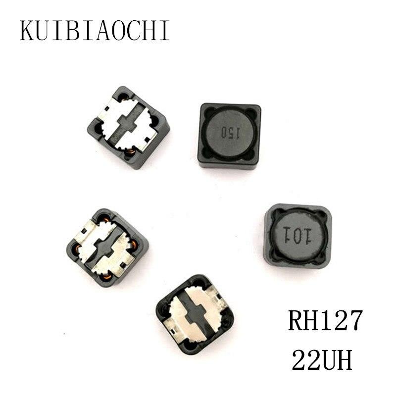 10 pçs/lote CDRH127 CD127 22UH Chip indutor 12*12*7mm 22uH 220 SMD Poder indutor
