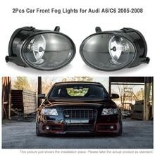 Paire de feux de brouillard avant de voiture, pour Audi A6 C6 2005-2008 4F0 941 700,4F0 941 699 12V ABS