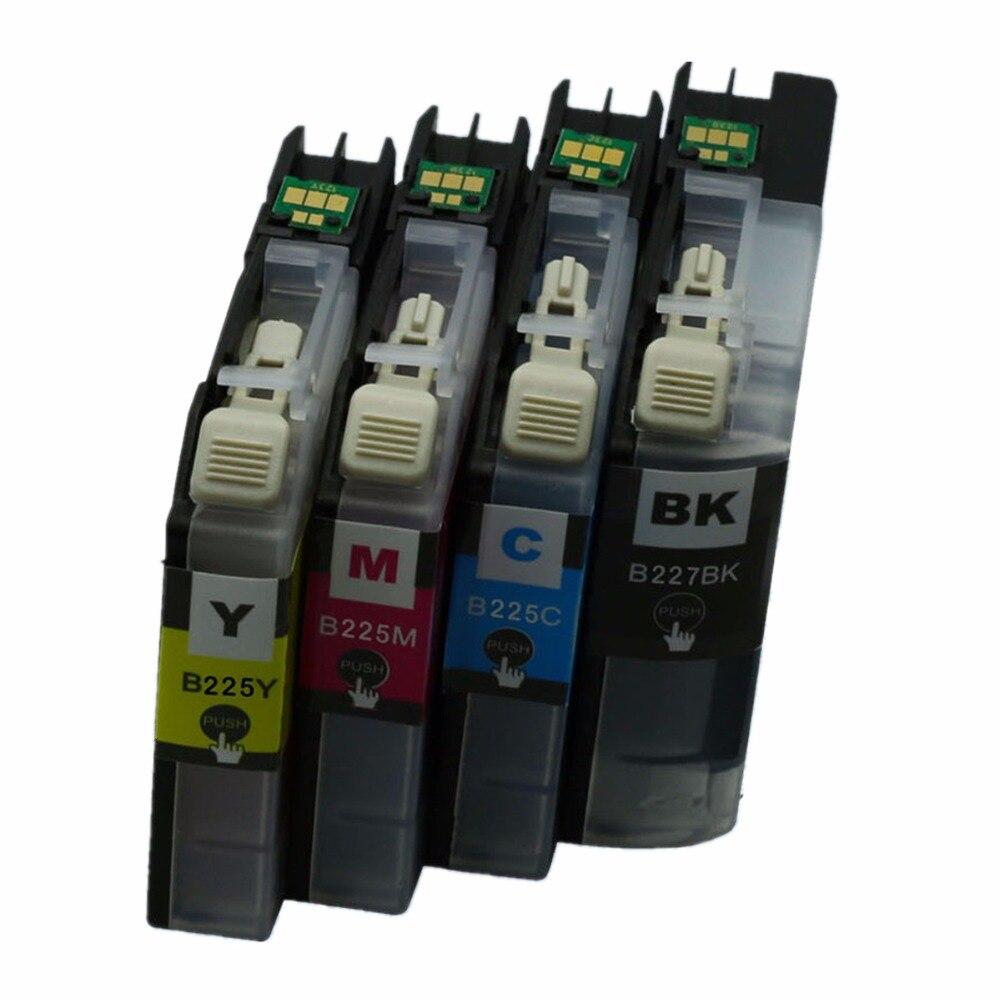Substituição LC227BK LC227 XL LC225 LC 227 225 Cartuchos de Tinta A Jato De Tinta Para DCP MFC J4120DW J4420DW J4620DW J4625DW J5320DW