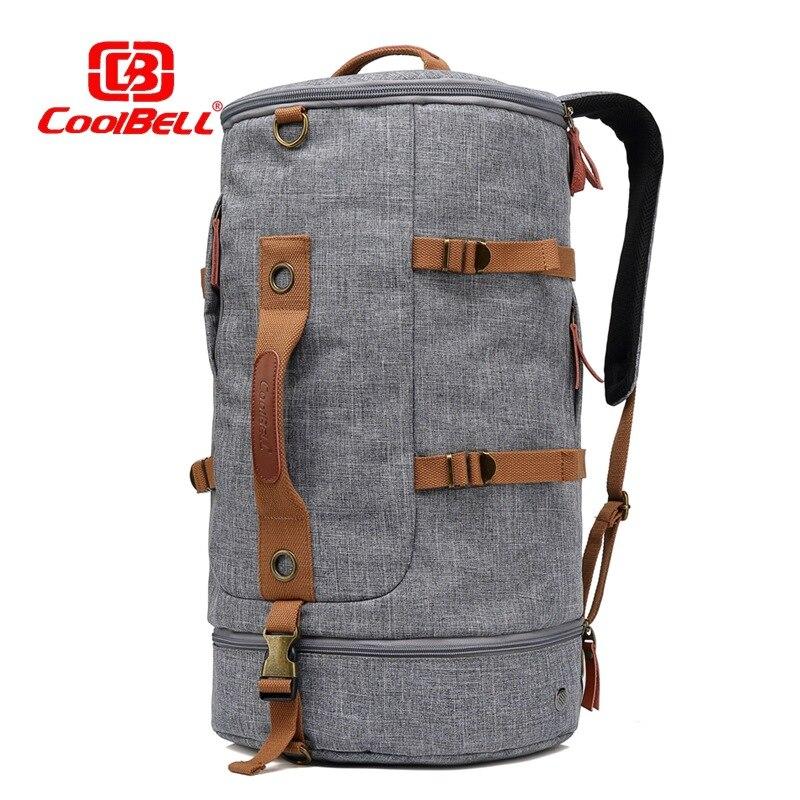 ¡Novedad! Mochila Coolbell de moda para ordenador portátil de 17,3 pulgadas, bolso deportivo para montañismo, mochila con batería