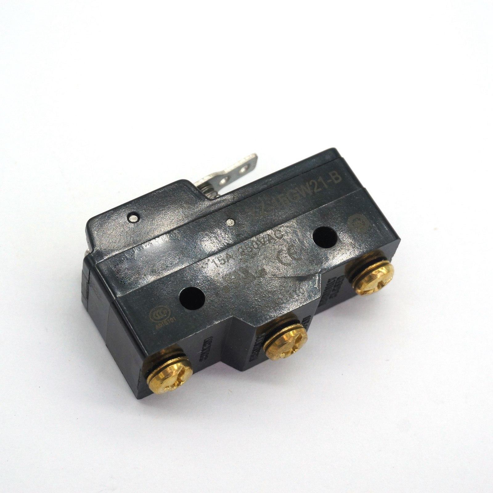 XZ-15GW21-B 15A 125VAC 3 Pin Spdt Micro Switch Korte Scharnier Lever Type IP40