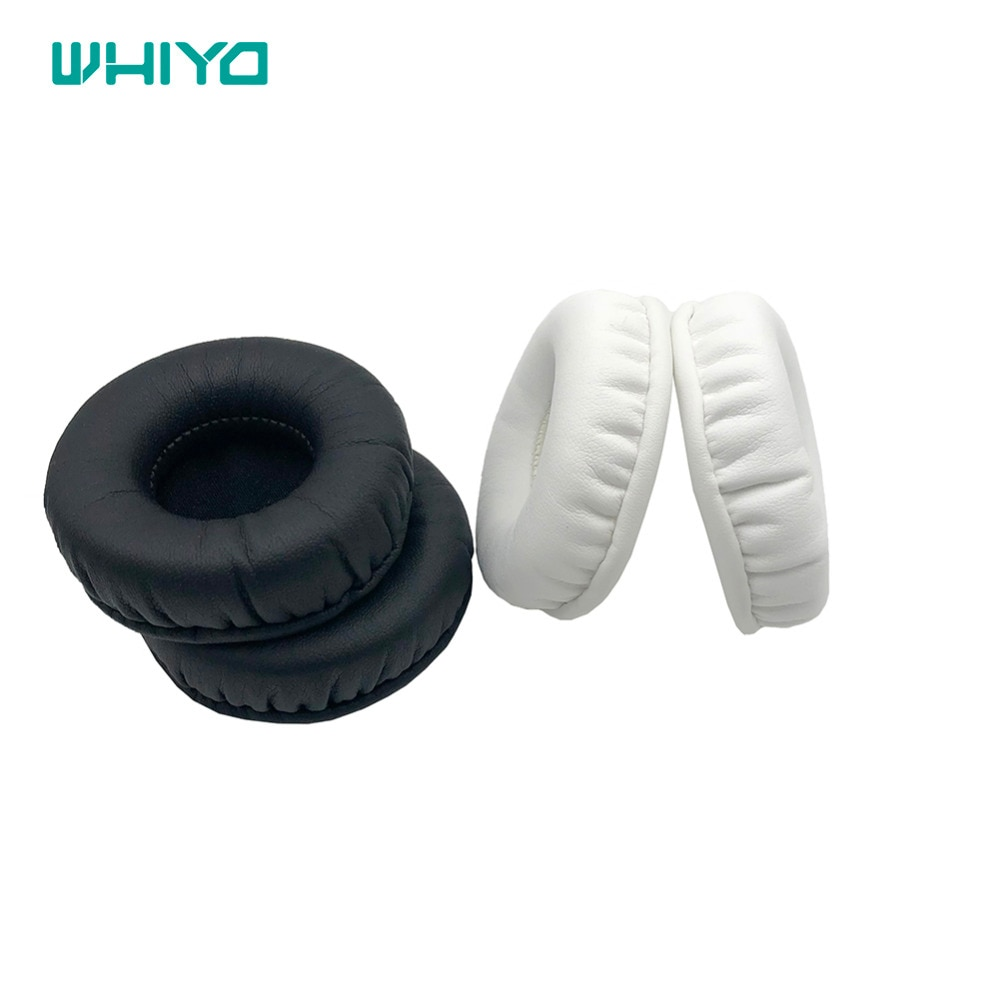 Whiyo 1 Pair of Sleeve Ear Pads Cushion Cover Earpads Replacement for Sennheiser PC150 PC151 PC155 PC 150 151 155 Headphones