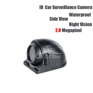 AHD 2.0MP Side View Camera Left/right Waterproof IR Night Vision CCD Camera for Vehicle Lorry Vans Taxi Bus Truck Surveillance