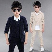 Costume Blazer pour garçons   Costume de mariage pour enfants, Costume de soirée pour enfants, veste de smoking pour garçons + gilet + pantalon