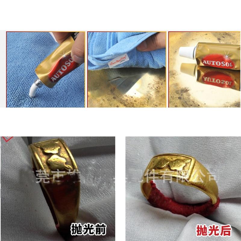 75 ml 100 g kremo, peilių ir mašinų poliravimo vaškas, metalinio - Abrazyvai - Nuotrauka 5