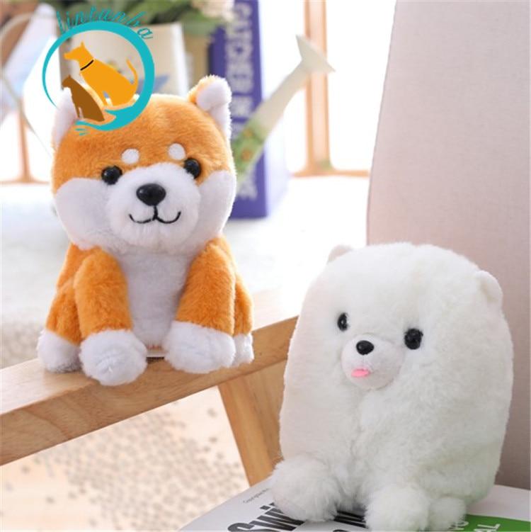 2018 Plush Electronic Speaking Talking Sound Record Shiba Inu Dog Sweet Animals Talking Corji Toys for Children Christmas Gifts