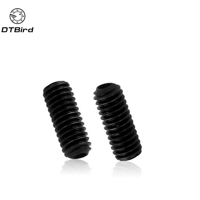 100 pçs/lote M3x10 mm M3 * 10mm aço Liga Hex Cabeça de Soquete Parafuso Parafusos parafusos de fixação com o copo ponto